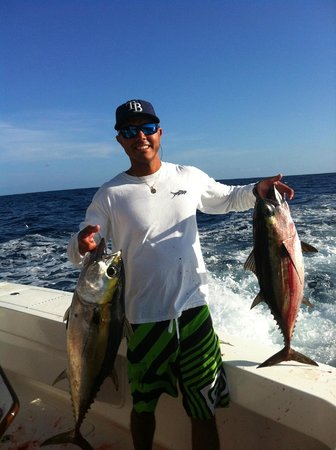 Far Out Fishing Charters: Couple of tunas with Far Out Charters