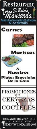 Restaurant Balcon Mansarda: En Nuestras puertas