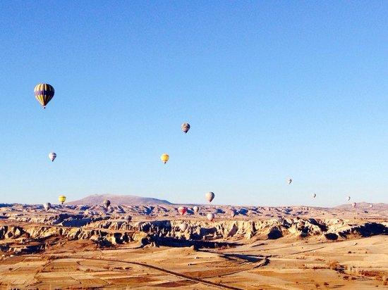 Turkiye Balloons: Capadoccia ( febrero 2014)