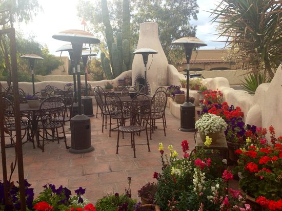 Rancho de Tia Rosa : Outdoor patio