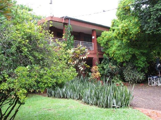Marcopolo Inn Iguazu : desde el jardin