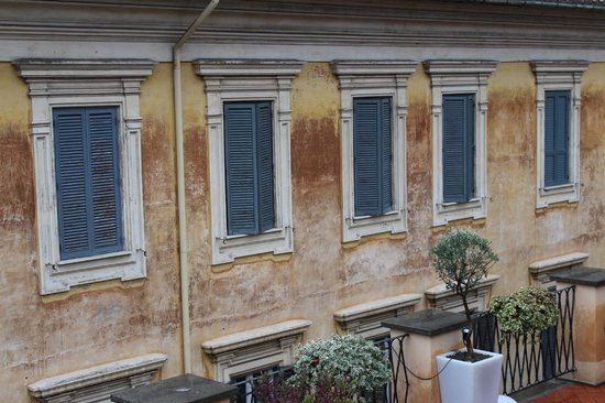 9 Hotel Cesari: View from the rooftop breakfast room