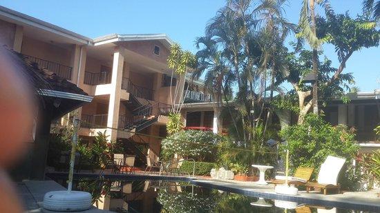 Copacabana Hotel & Suites: Vista desde la Piscina