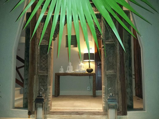 Hotel Jashita: Entrance to our cabaña