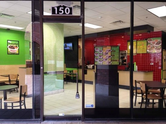 The Flame Broiler: Entrance
