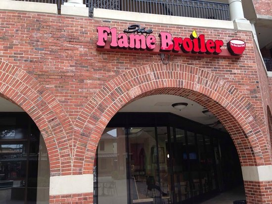 The Flame Broiler: Front