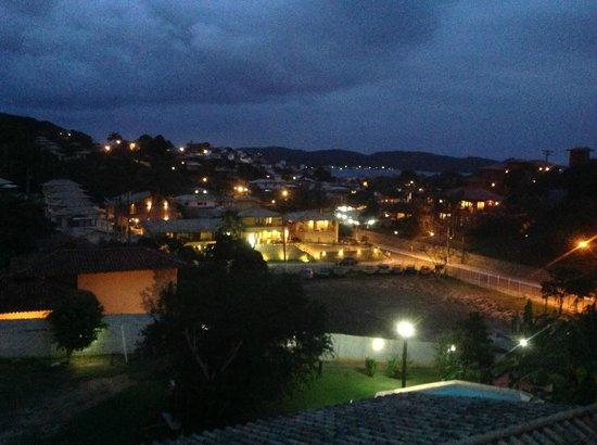 Pousada New Paradise: Vista do quarto 3º andar