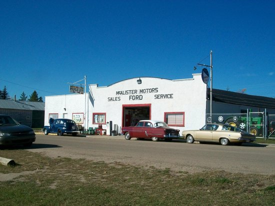 Big Valley Historical Society: Our main museum--a 1930's North Star garage.