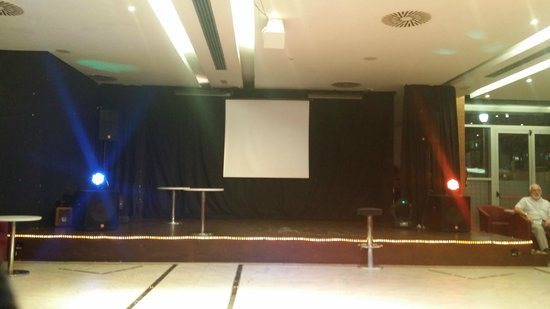 Hotel Levante Club & Spa: The entertainment stage