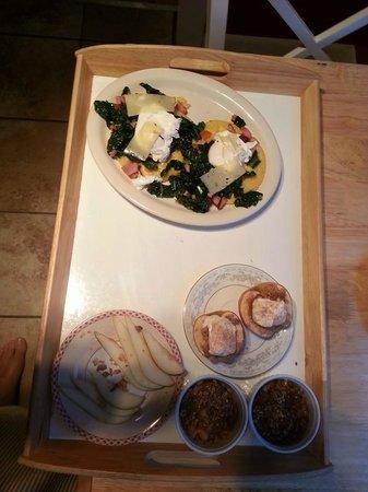 Tucker House Inn: Yummy breakfast!