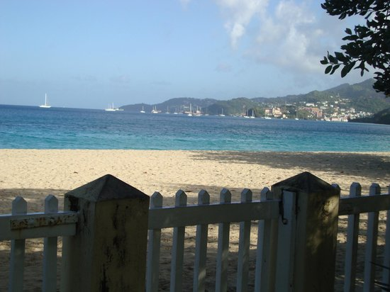 Radisson Grenada Beach Resort: View from Hotel grounds of St George's