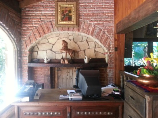 Hacienda Don Juan Hotel : Una rica recepción...