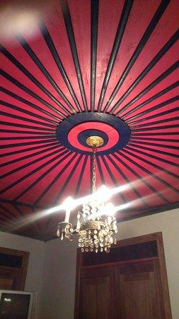 Finca Cafetera El Balso : Decke in Zimmer Nr. 3