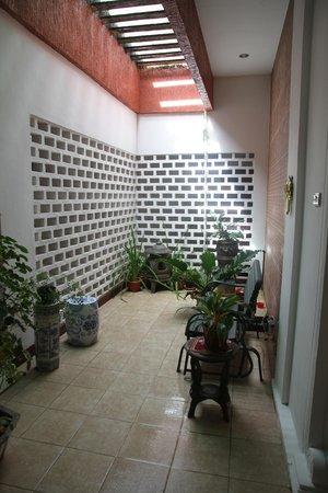 Libra Homestay : Open Air Area