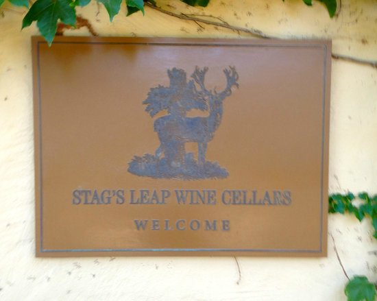 Stag's Leap Wine Cellars: Entrance to the tasting room