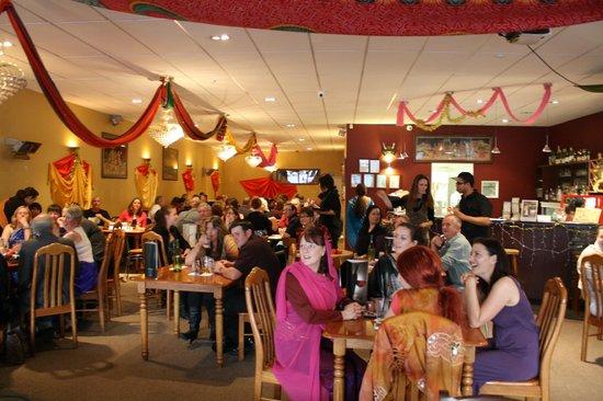 Shiraz Indian Restaurant Kamo: Diwali gathering