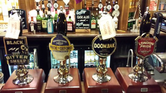 Three Magpies: Selection of Real Ales  (I liked the two I tried)