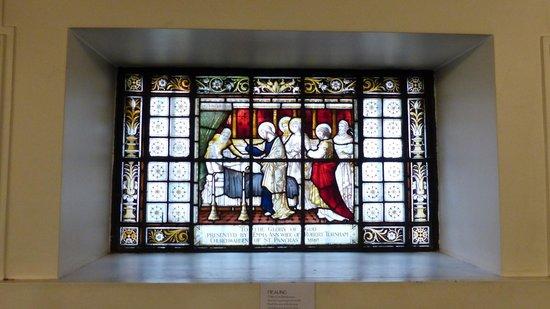 St Pancras Parish Church - Stained glass windows