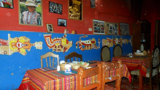 Pachamama: Lovely painted walls