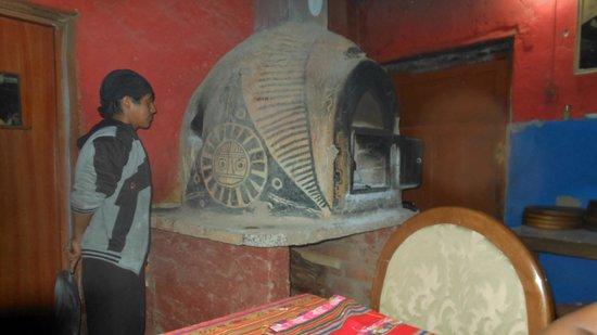 Pachamama: Mud oven