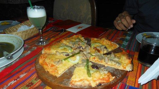 Pachamama pizza