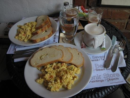 Muisca Hotel: Typical breakfast