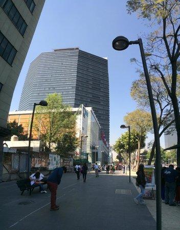 Hilton Mexico City Reforma: Fachada