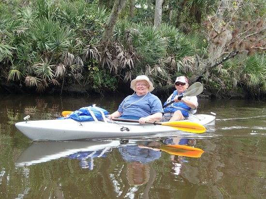 Kayaks & Stuff of the Treasure Coast: Our first kayak experience