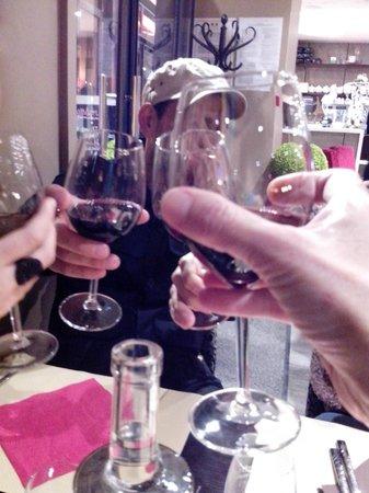 L'adresse : Para o brinde,delicioso vinho Ronan by Clinet - Bordeoux