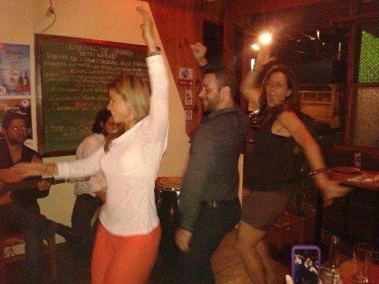 Sofia Restaurante Mediterraneo Arte & Cultura: Bailando flamenco