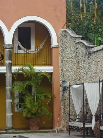 Hotel Hacienda Merida piscine