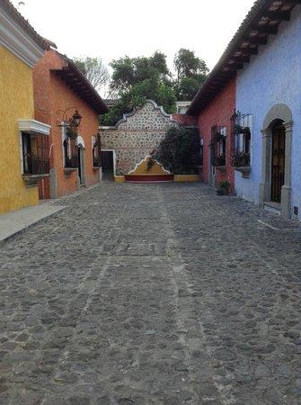"""Villa Colonial: Hotel """"street"""""""