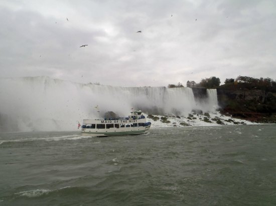 Maid of the Mist: The Maid and American Falls