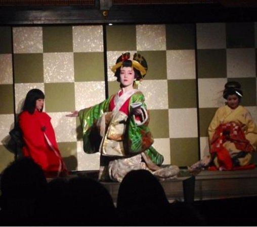 Edo Wonderland Nikko Edomura: 花魁ショー