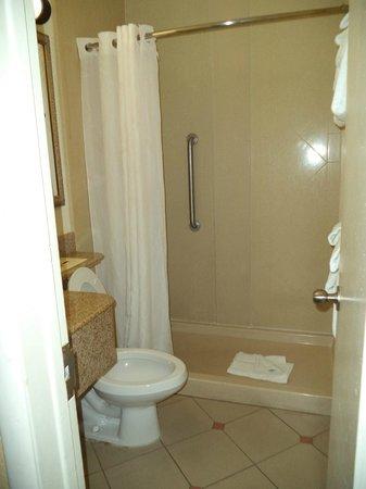 Comfort Inn & Suites Port Canaveral Area : rm 135 bathroom