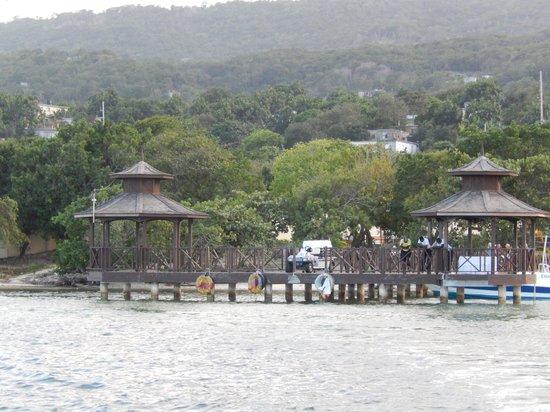 Iberostar Grand Hotel Rose Hall : leaving on a boat for Luminous Lagoon