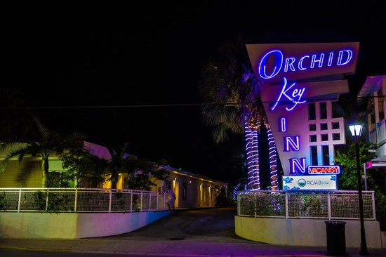 Orchid Key Inn: street view