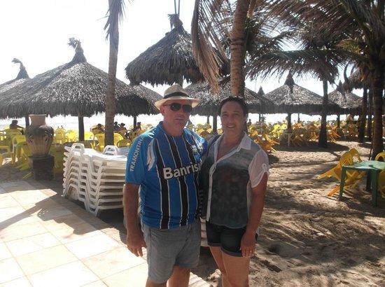Flat VG Fun na Praia do Futuro em Fortaleza - CE : Esta praia conta com excelente estrutura de atendimento