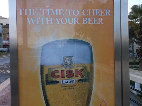 Excelsior Grand Hotel: try the local beer!