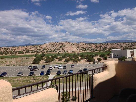 Hilton Santa Fe Buffalo Thunder : Great View From RooM