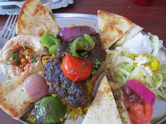 Heart of Jerusalem Cafe: What a feast