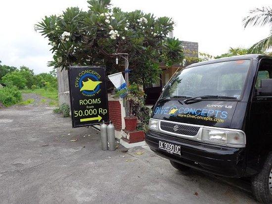 Dive Concepts: Dive shop premises