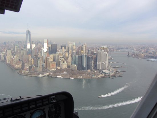 Manhattan Helicopters : View