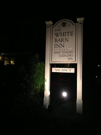 Grace White Barn Inn and Spa: The White Barn Inn!