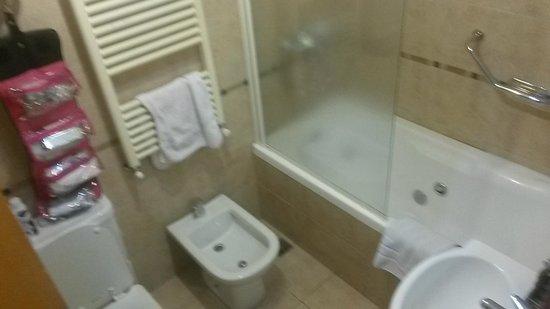 Del Sur Apart: Baño con hidromasaje