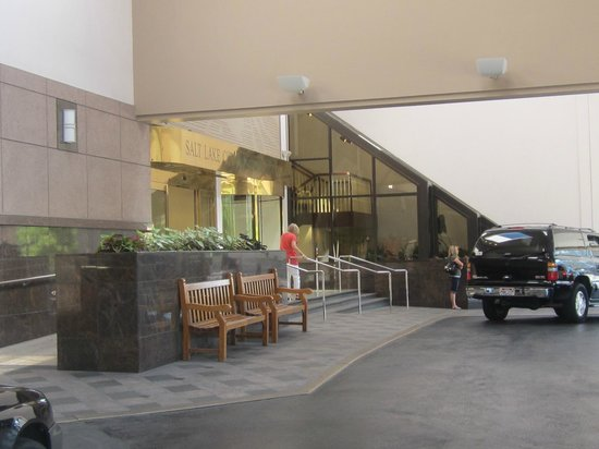 Salt Lake Marriott Downtown at City Creek: Main Entrance