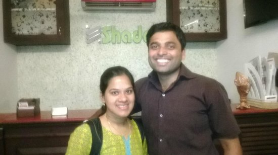 Shade Tourist Home : Our guest from Bangalore !