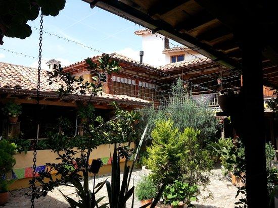 Hotel La Posada de San Antonio : 2nd floor right of center is room 16. Beautiful.