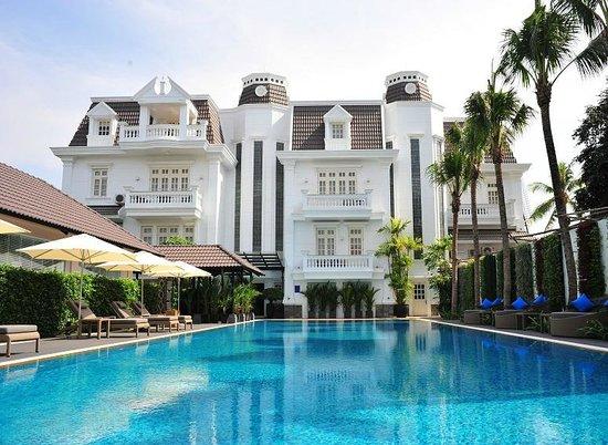 Villa Song Saigon: Villa from Pool