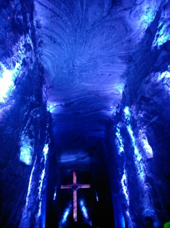 Zipaquirá, Colombia: blue for salty rocks